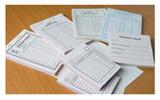 Образцы бланков, использующихся на Почте