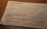 Как заполнить извещение от Почты