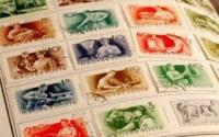 Марки на конверт и открытки