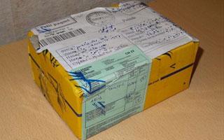 Украинская посылка